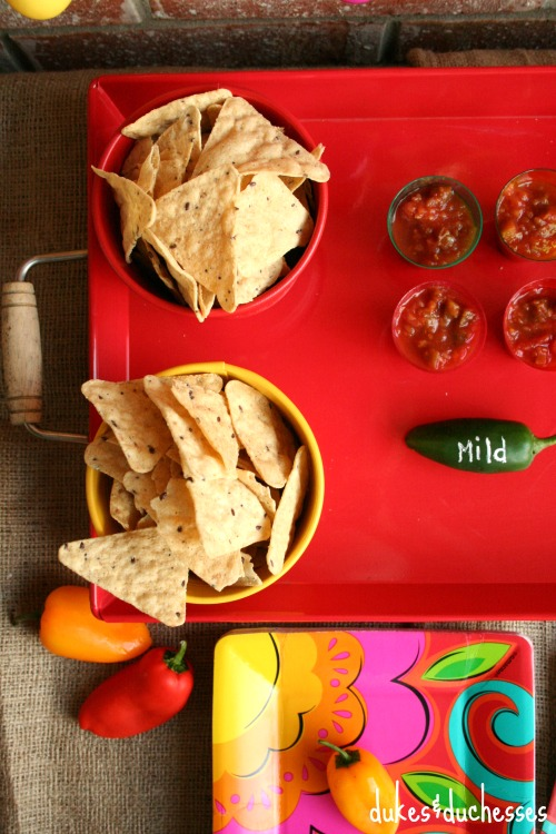 chip and salsa bar