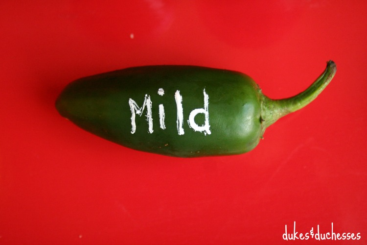 jalapeno marker for food