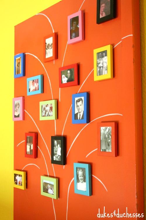 photo tree of family