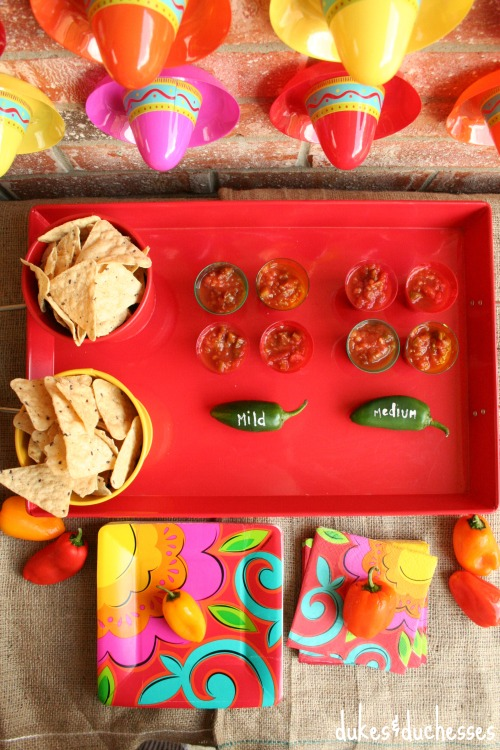 salsa bar for summer