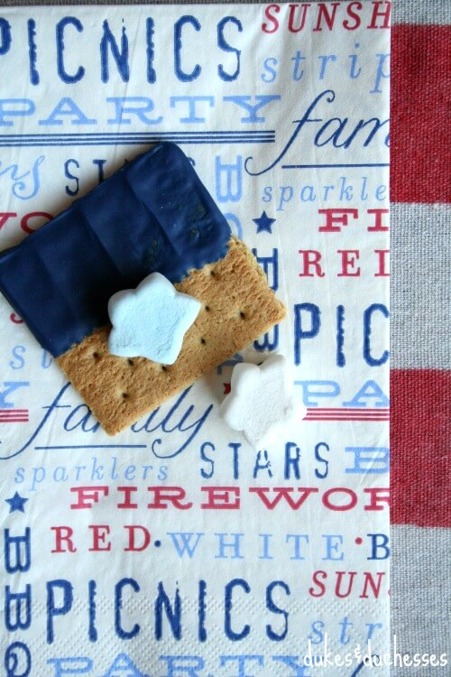 s'mores for 4th of July