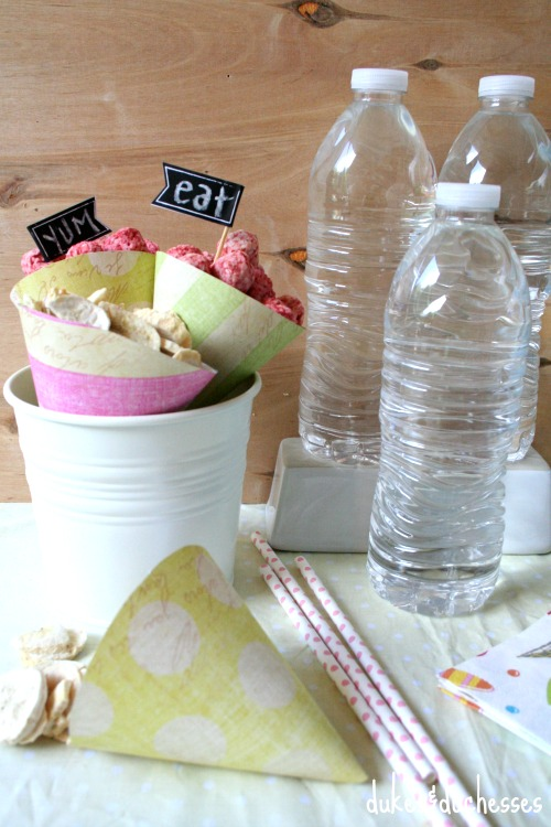 snack station for summer