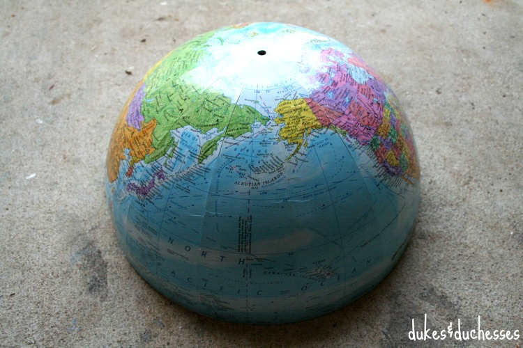 split globe