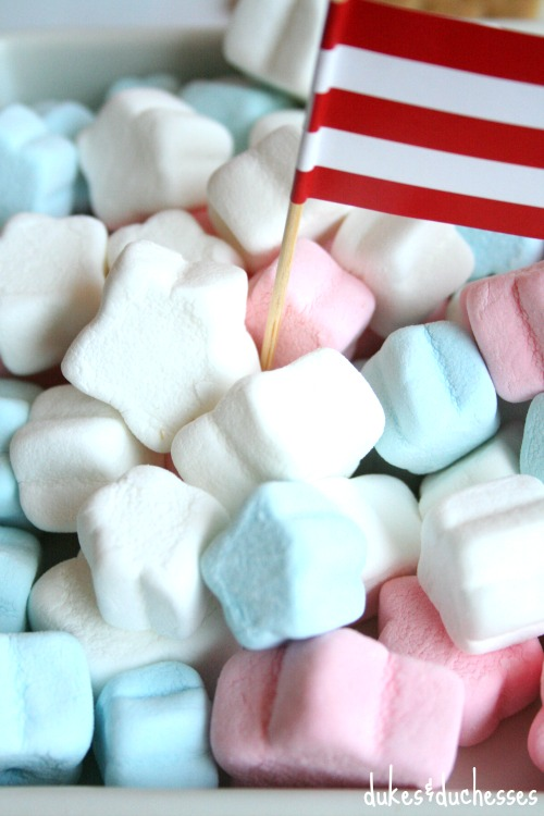 star shaped marshmallows