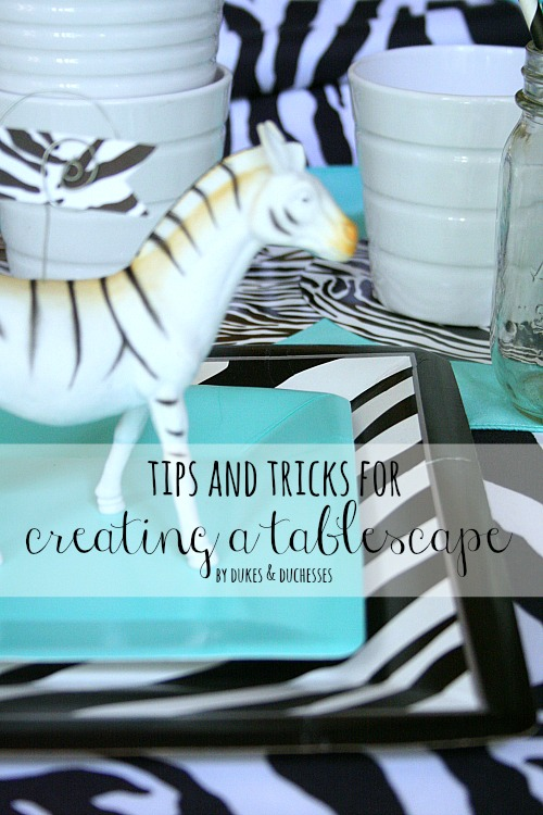 tips and tricks for creating a tablescape