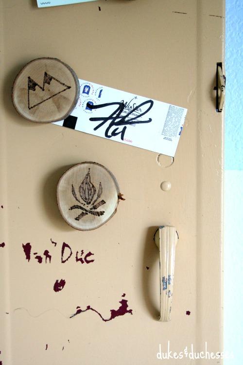 vintage locker door