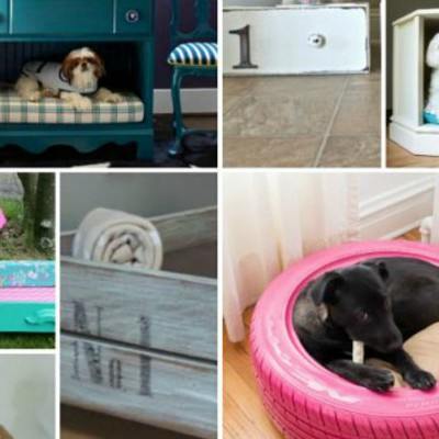 21 DIY dog beds visual