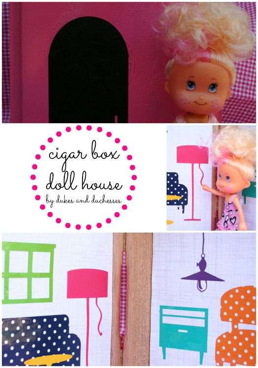 cigar box doll house