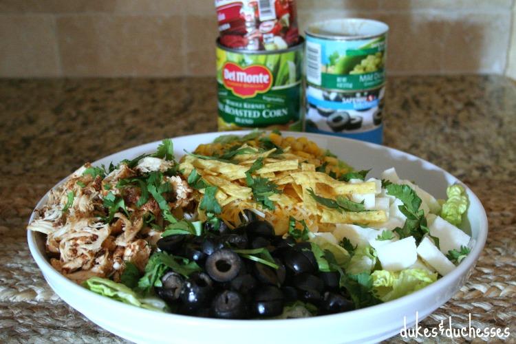 fresh southwestern chicken salad