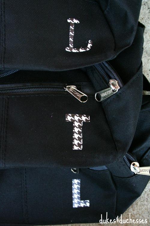 monogrammed fanny packs for snacks