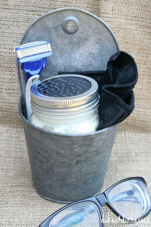 DIY shaving kit gift
