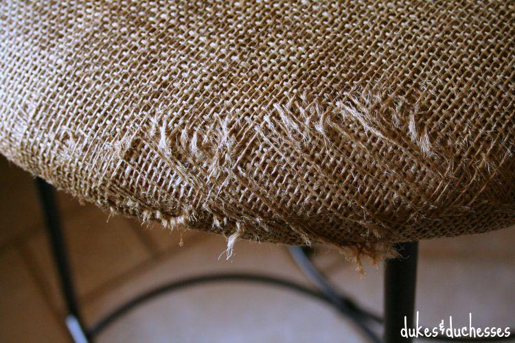 coffee sack stool cover