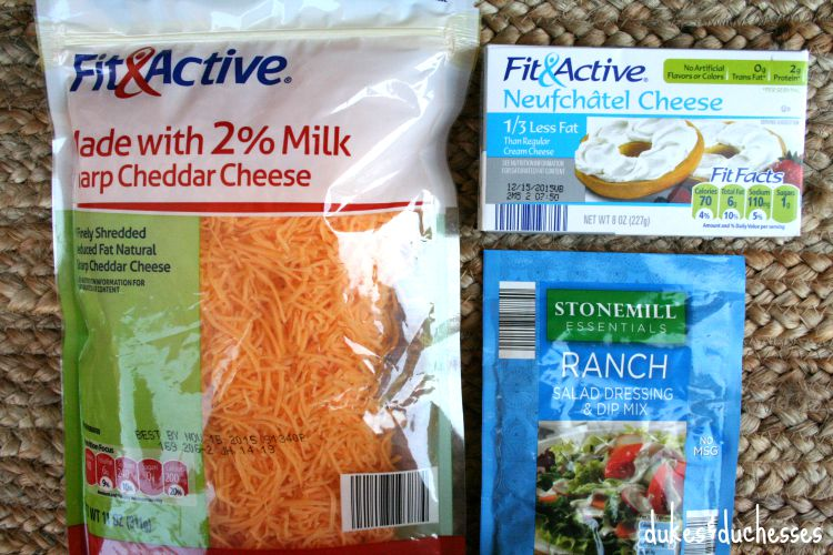ingredients for ranch cheese ball