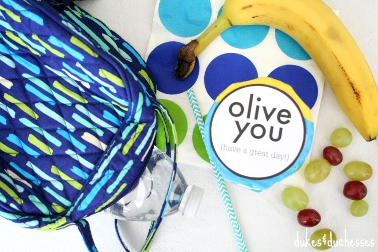 lunchbox ideas and printable