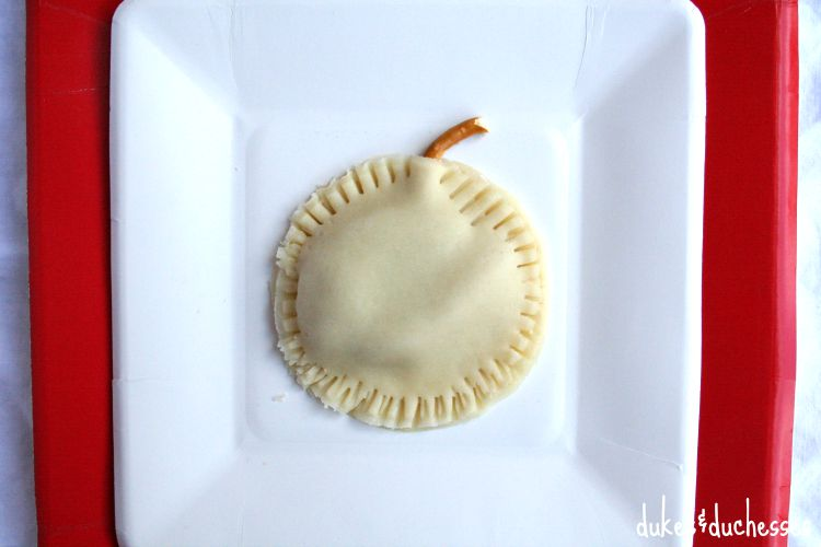 pre-baked apple hand pies