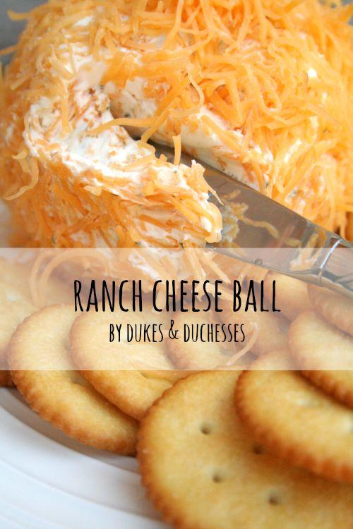 ranch cheese ball recipe