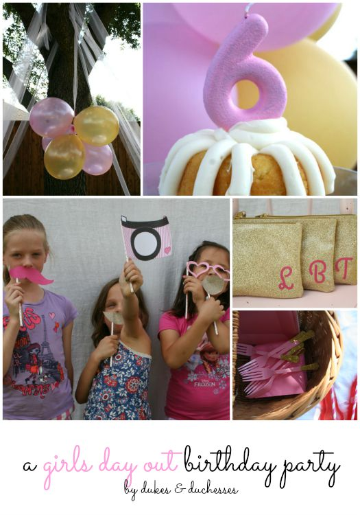 a girls day out birthday party