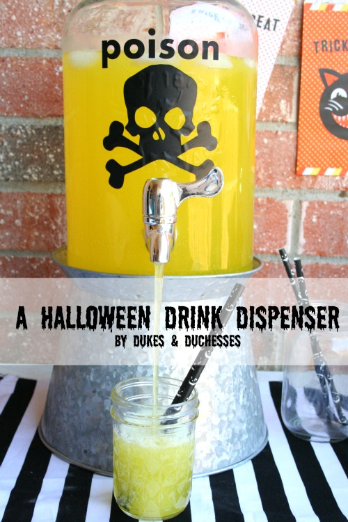 halloween drink dispenser
