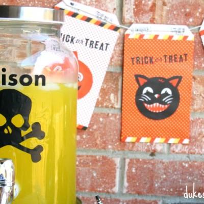 Halloween Drink Dispenser