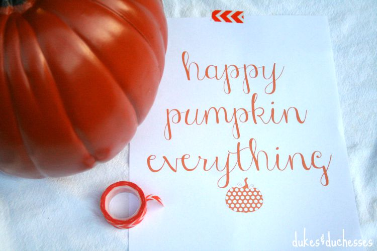 happy pumpkin everything