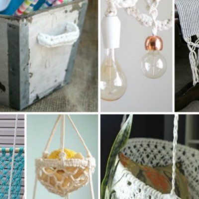 13 DIY Macrame Projects for the Home