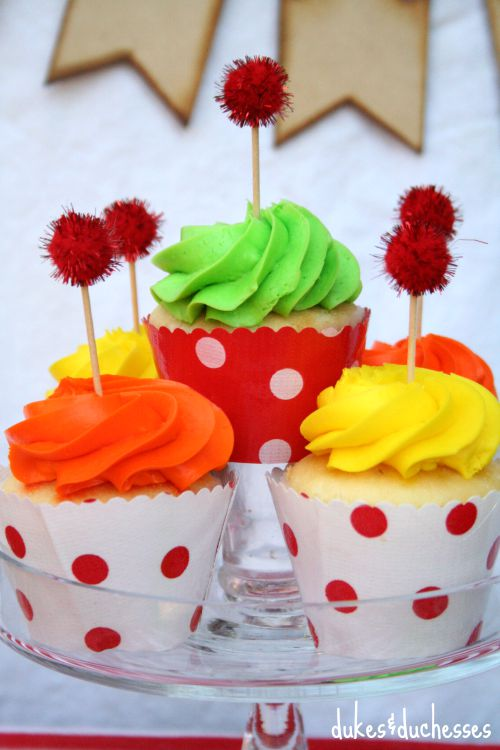 oilcloth cupcake wrappers