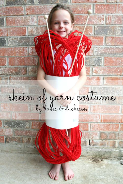 skein of yarn costume