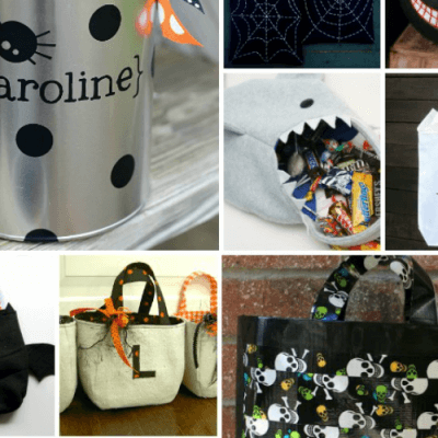 24 DIY Trick or Treat Bags and Buckets