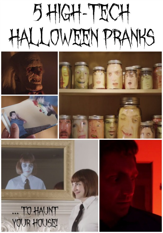 5 high tech halloween pranks