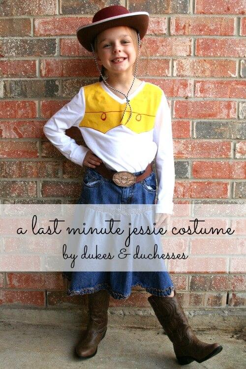 last minute Jessie costume