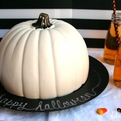 A Pumpkin Cloche