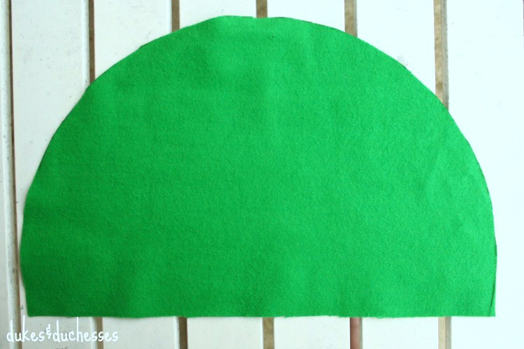 no sew peter pan hat