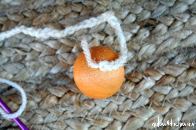 how to make top of crochet topped acorn