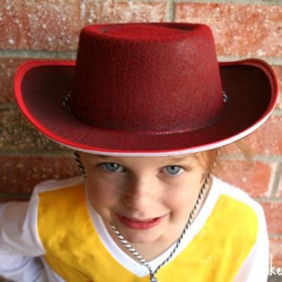 A Last Minute Jessie Costume