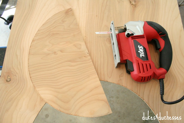 jigsaw cut for lumber can