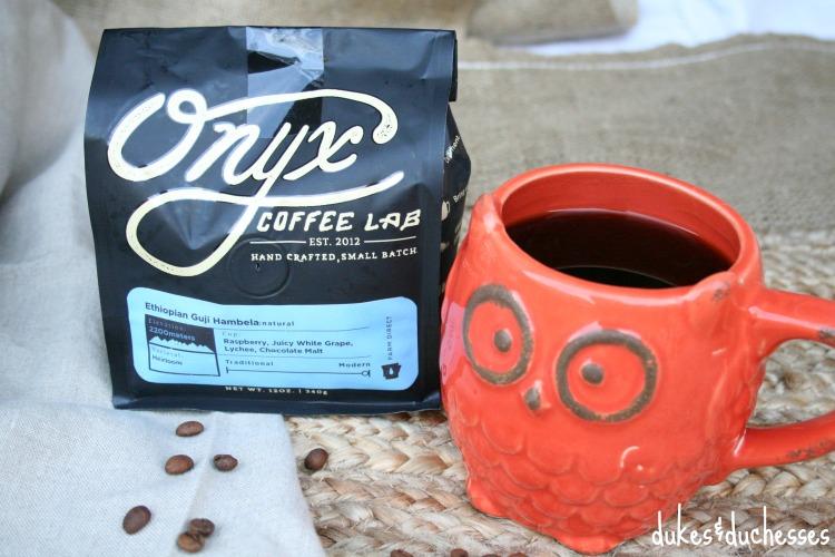 onyx coffee from fall acorn box