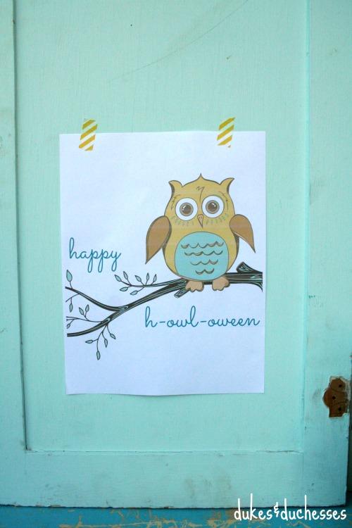 Happy H-owl-oween by Randi Dukes