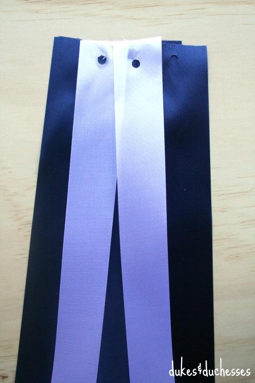 ribbons on homecoming mum