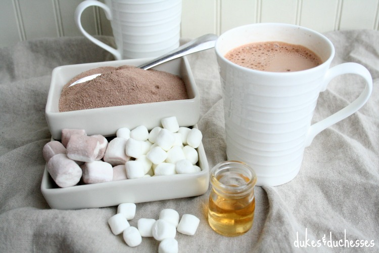 adult only hot cocoa bar