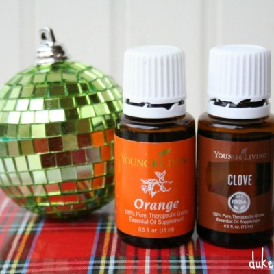 The Smells of Christmas {Essential Oil Blends}