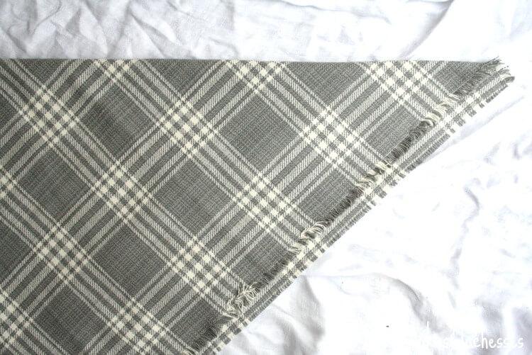 folded wrap