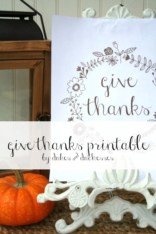 give thanks printable for thanksgiving