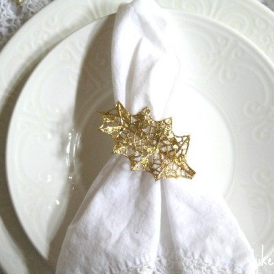 How to Make DIY Napkin Rings