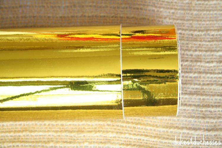 gold vinyl