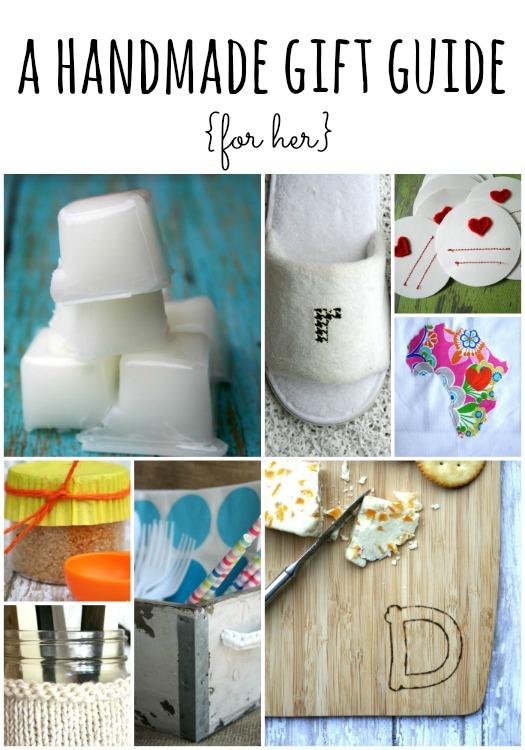 handmade gift guide for her