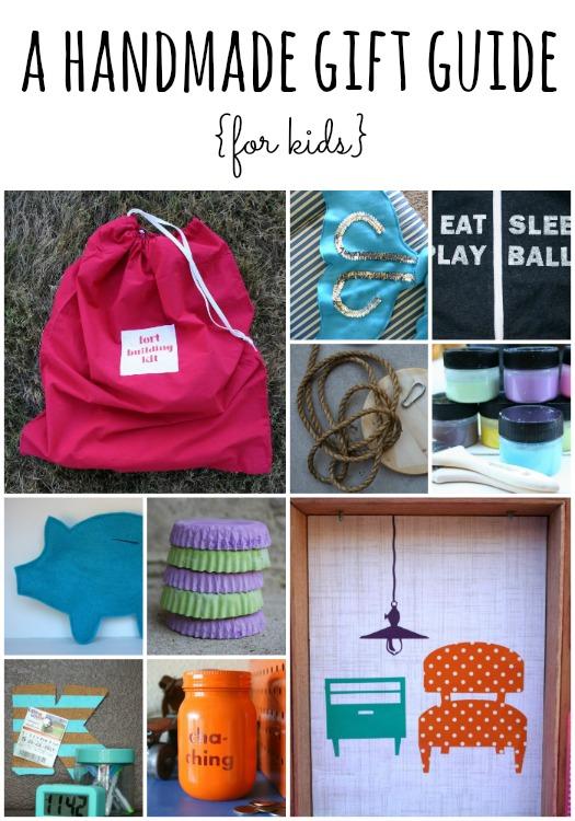 handmade gift guide for kids
