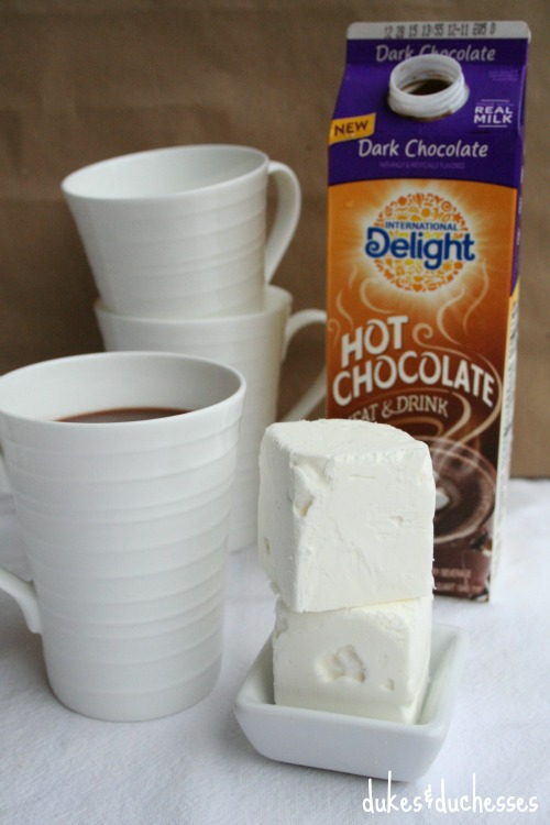 hot chocolate from international delight