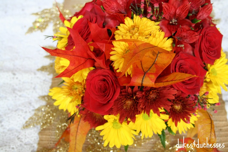 maple leaf bouquet from teleflora