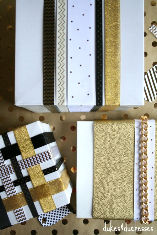 ribbon gift wrap ideas