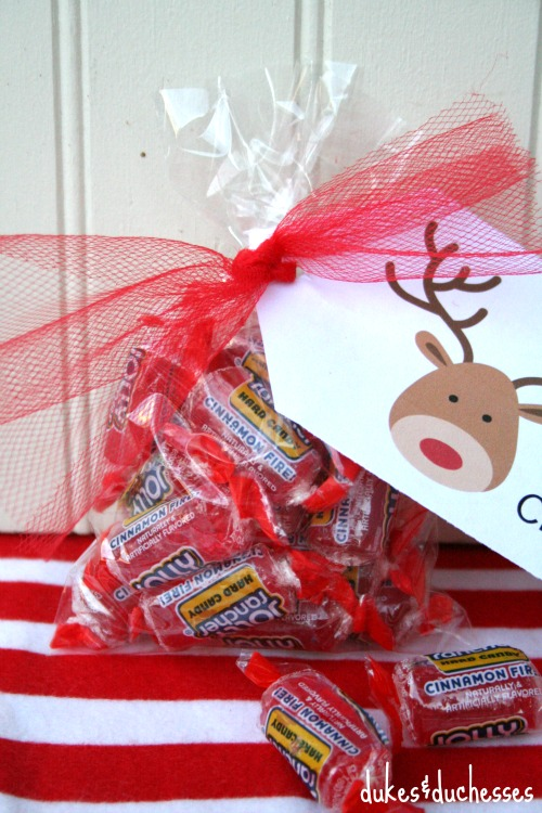 tag on jolly rancher gift idea